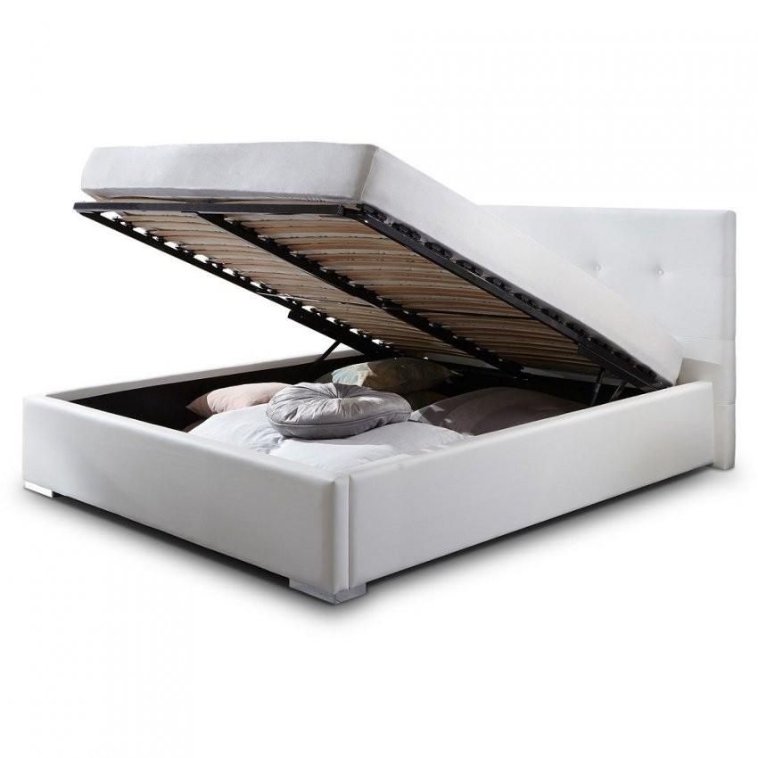 Modern Weiße Betten 120X200 Schön Bett Weiß Mit Bettkasten Laras von Weiße Betten 120X200 Bild