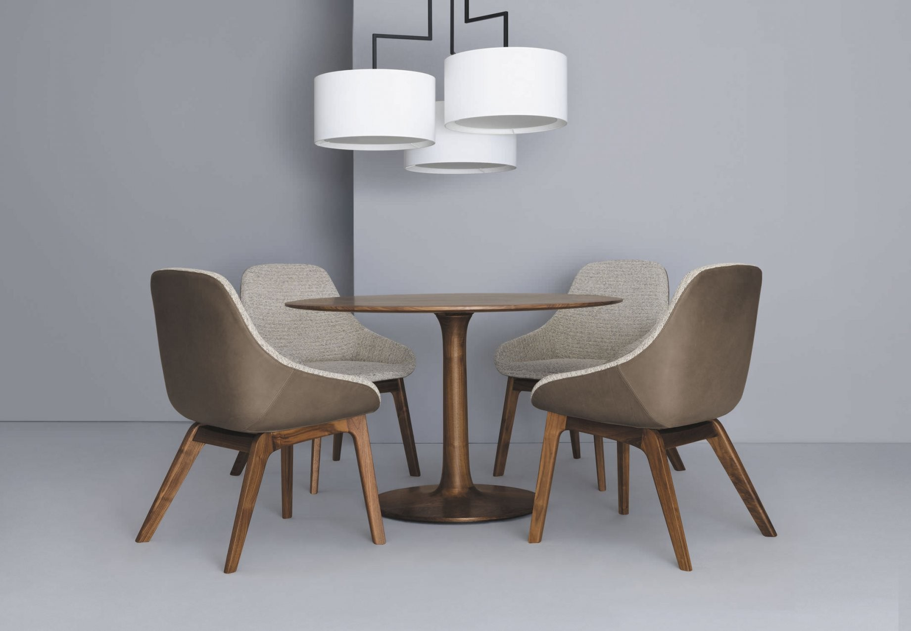 Moderner Restaurantstuhl  Polster  Massivholz  Leder  Morph von Stühle Modernes Design Bild