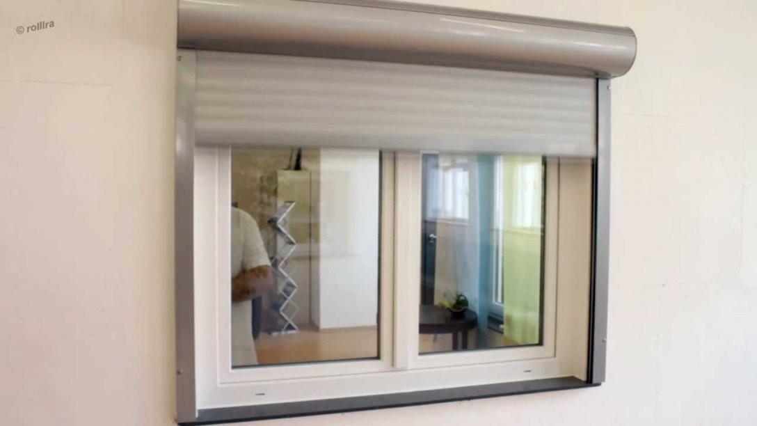 Montageanleitung  Vorbaurollladen Von Rolllra  Youtube von Fenster Rollos Außen Nachrüsten Bild