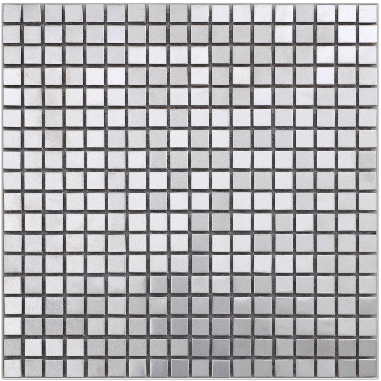 Mosaik Metall Edelstahl 30 Cm X 30 Cm Kaufen Bei Obi von Mosaik Fliesen Obi Bild
