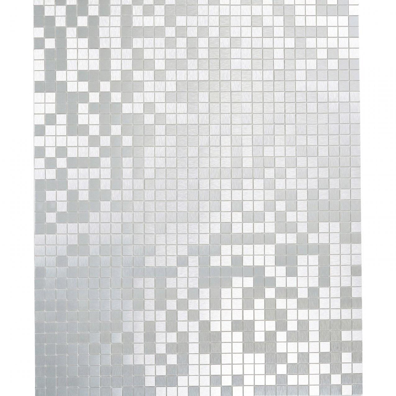 Mosaikmatte Selbstklebend Alu Gebürstet Silber 29 Cm X 29 Cm Kaufen von Mosaik Fliesen Selbstklebend Photo