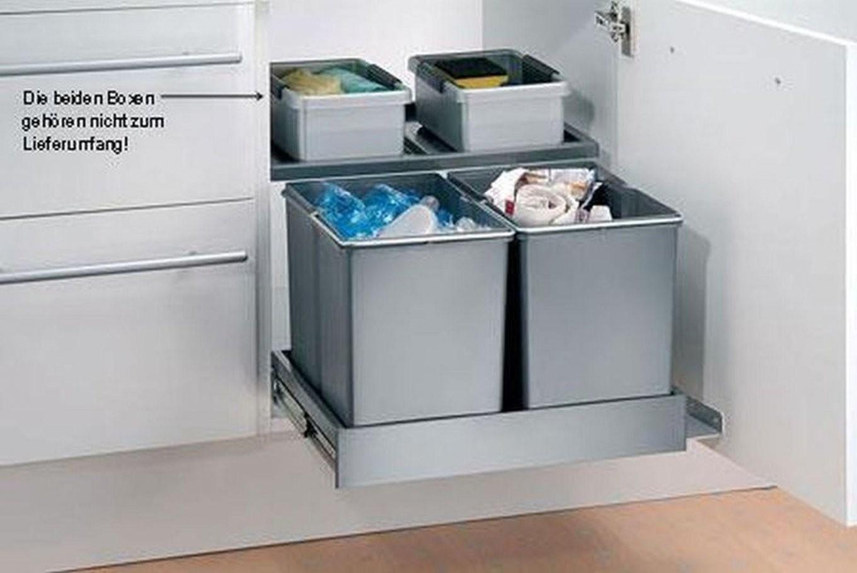 Mülleimer Für Einbauküche  Hausumbau Planen von Mülleimer Einbauküche Photo
