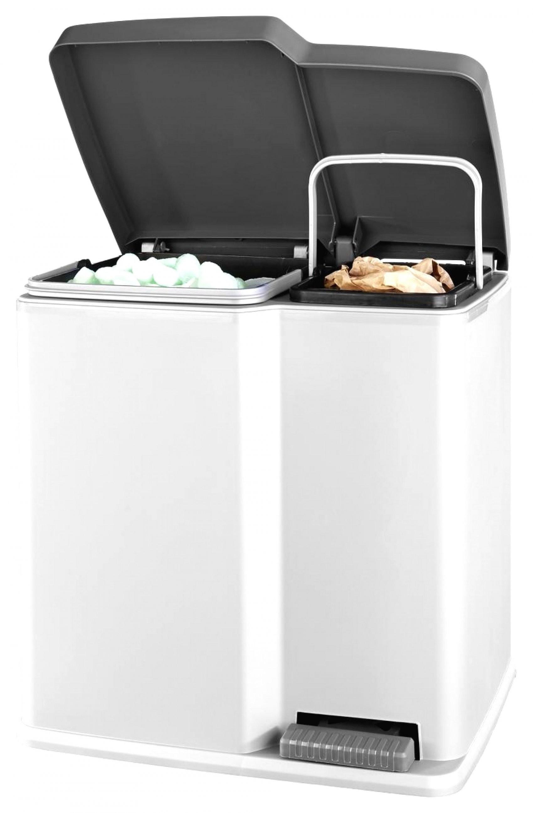 Mülleimer Trennung Küche  Wesco Bio Trio Bio Abfall Mülleimer Küche von Mülleimer Küche Trennung Photo