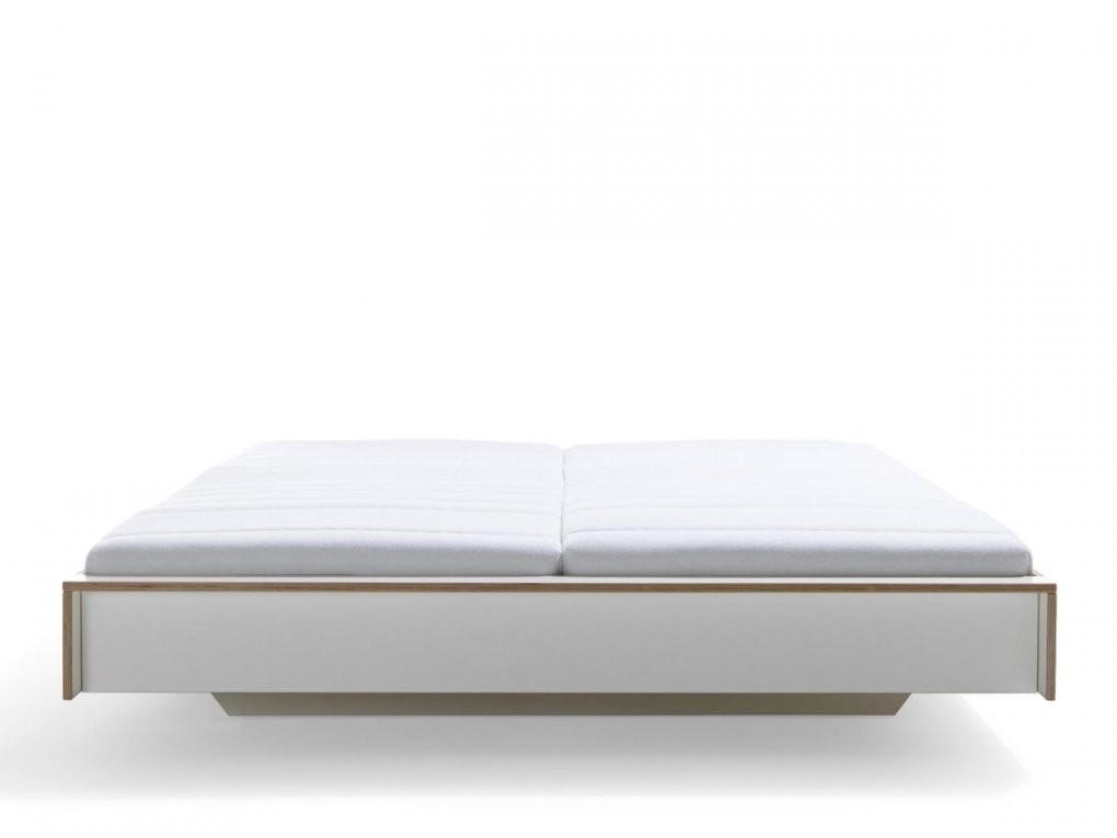 Müller Möbelwerkstätten Flai Bett 140 X 200 Ohne Kopfteil Weiß von Bett Ohne Kopfteil 140X200 Bild