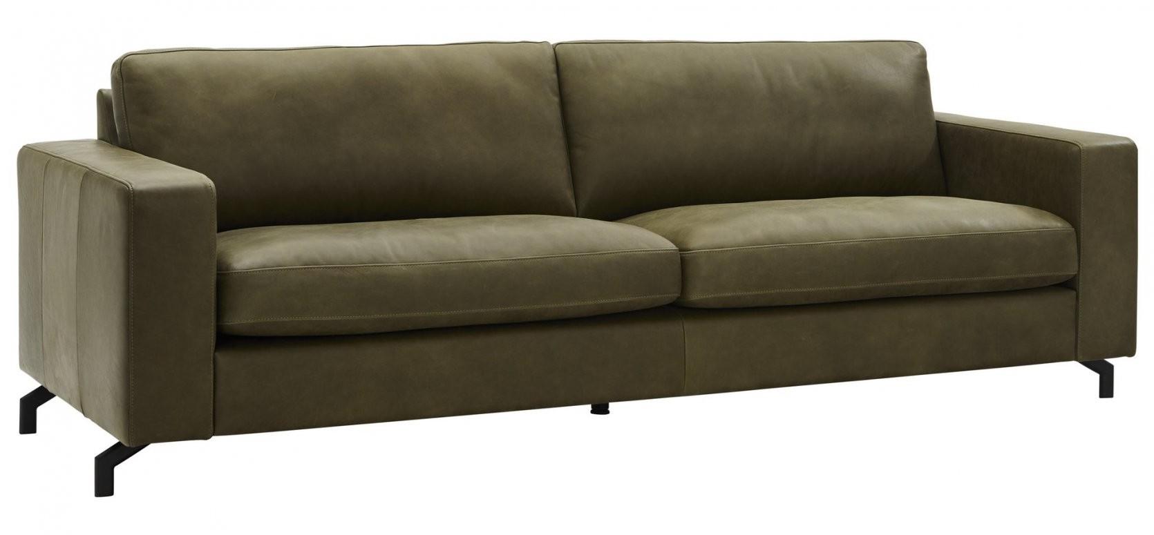 Natura Livingston 4Sitzer In Leder Olivgrün von Sofa 4 Sitzer Leder Photo