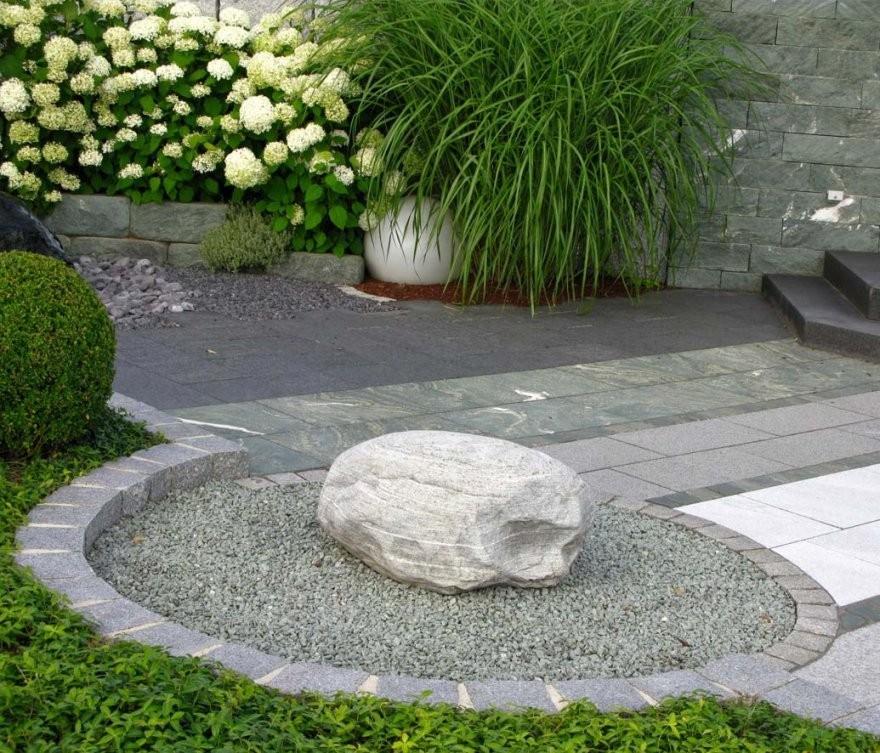 Natursteine Hannover  Grün Und Gut  Trockenmauer Erstellen von Garten Verschönern Mit Steinen Bild