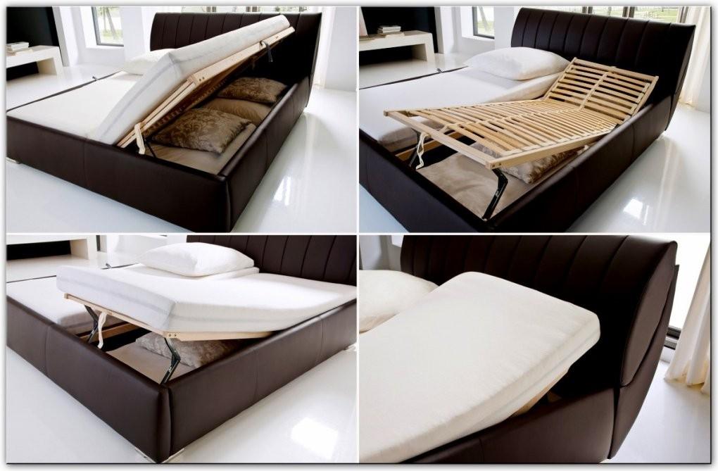 Nett Bettgestell Mit Bettkasten Polsterbett 200X200 Bett Gebraucht von Bett Mit Bettkasten 200X200 Bild