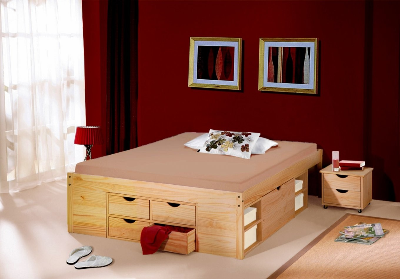 Nett Hohes Bettgestell 140X200 Bett 200X200 Komforthohe Betten In von Hohes Bettgestell 140X200 Bild