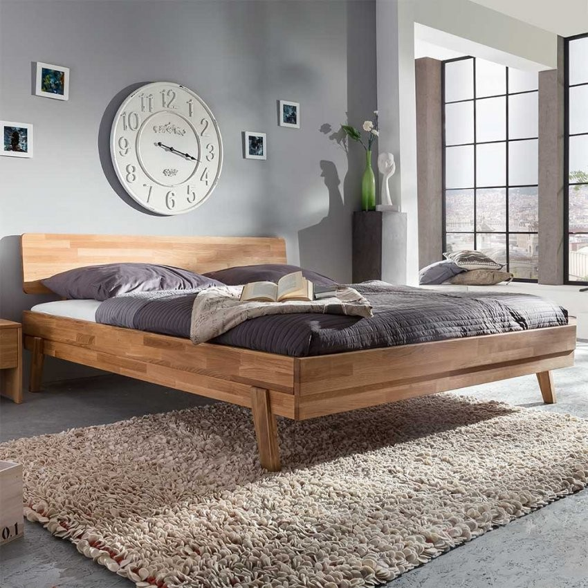 Nett Massivholz Bett 200X200 Massivholzbetten In Cm Robust Herrlich von Bett 200X200 Massivholz Photo