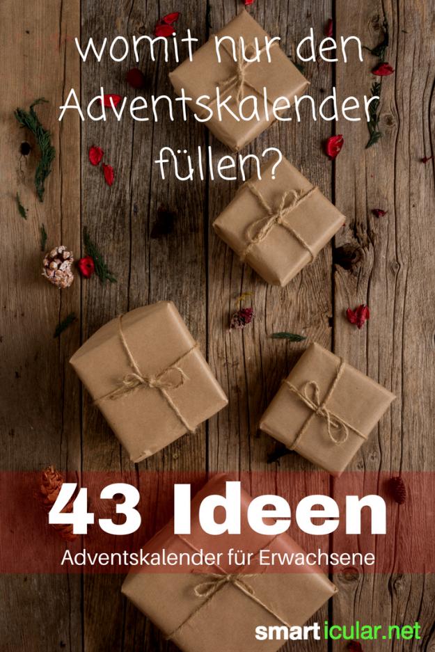 Niemand Ist Zu Alt Für Einen Adventskalender  43 Ideen Für von Adventskalender Selber Machen Ideen Freund Photo