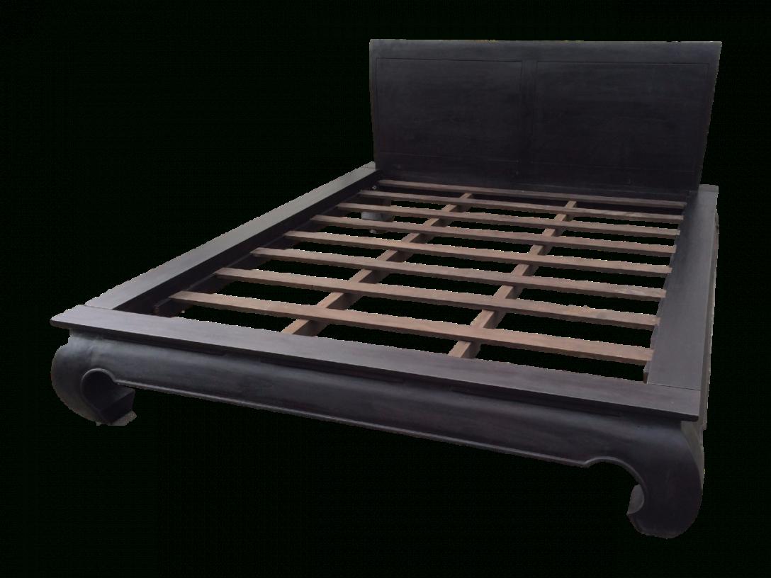 Opium Bett 160 X 200 Cm Mit Kopfteil Farbe Wenge  Ready2Buy Das von Opium Bett 160X200 Bild