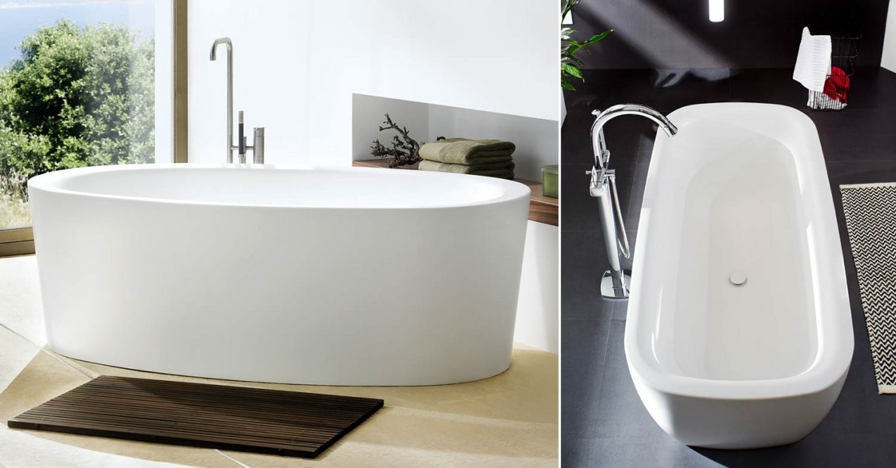 Ovale Freistehende Badewanne Mauersberger Mineralwannen Erleben von Ovale Badewanne Freistehend Photo