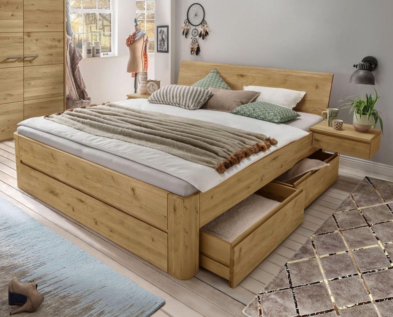 Paletten Für Palettenbett Luxus Massivholz Betten 200×200  Devtest von Paletten Bett 200X200 Photo