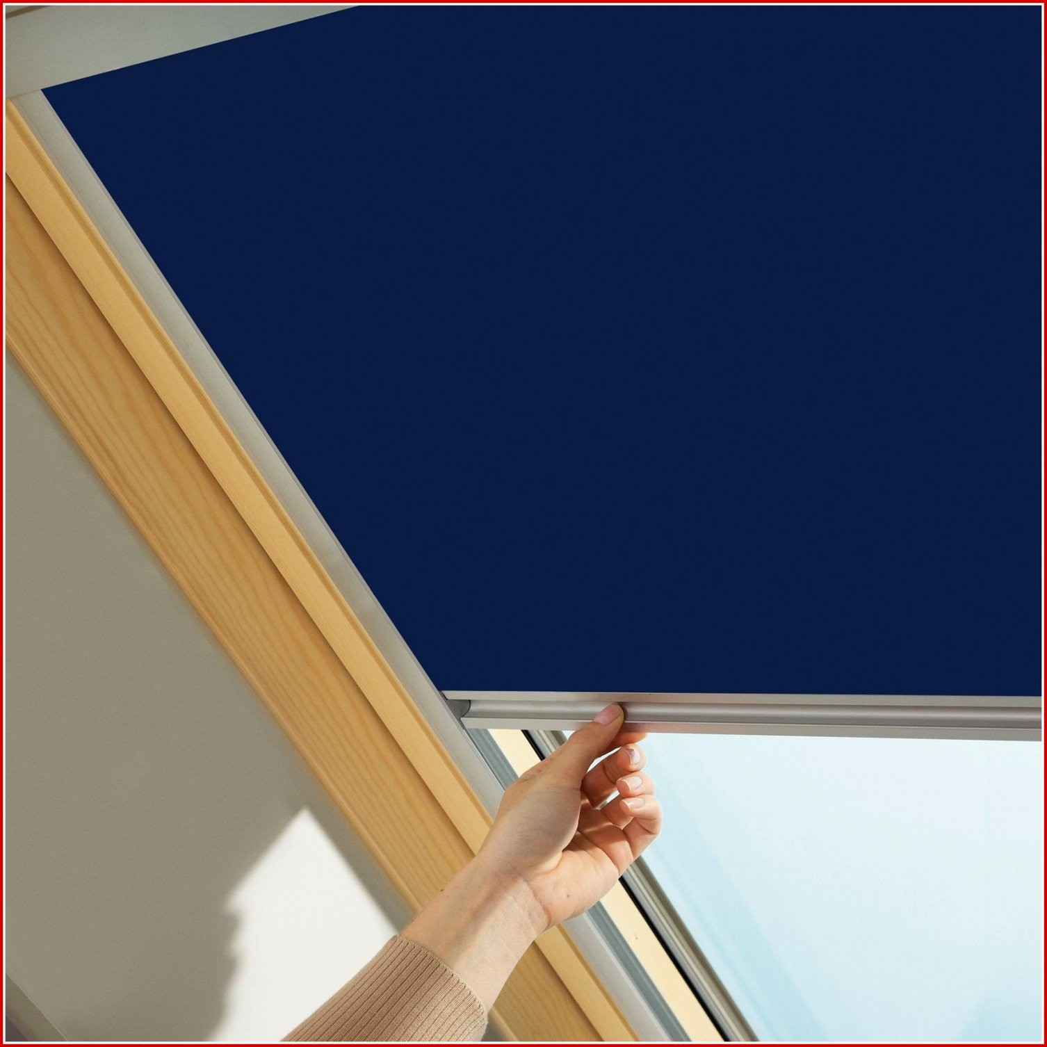 Perfekt Velux Jalousien Velux Jaloezie Lichtdoorlatend Handbediend von Rollos Velux Fenster Bild