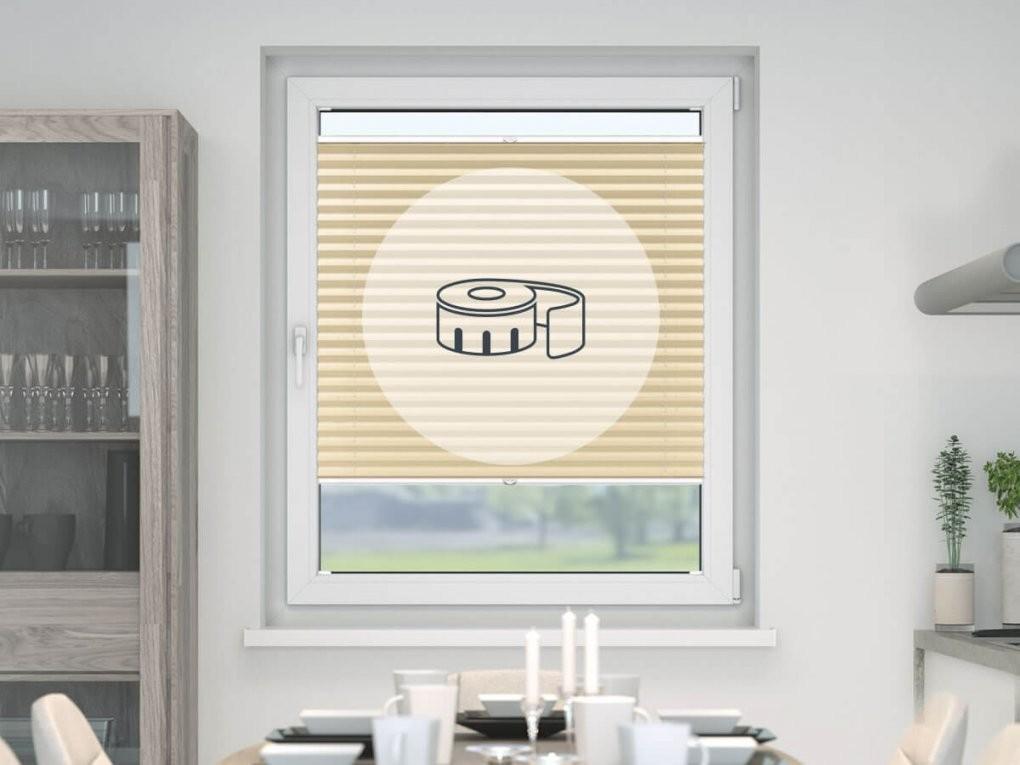 Plissee Jede Farbe Größe & Variante Plissees Günstig von Plissee Rollos Für Fenster Bild