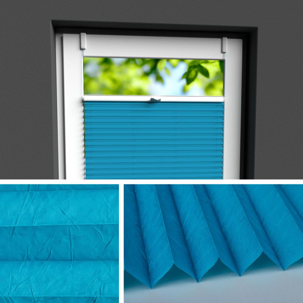 Plissee Rollo  Der Perfekte Sichtschutz Für Fenster  Plissee von Plissee Rollos Für Fenster Bild