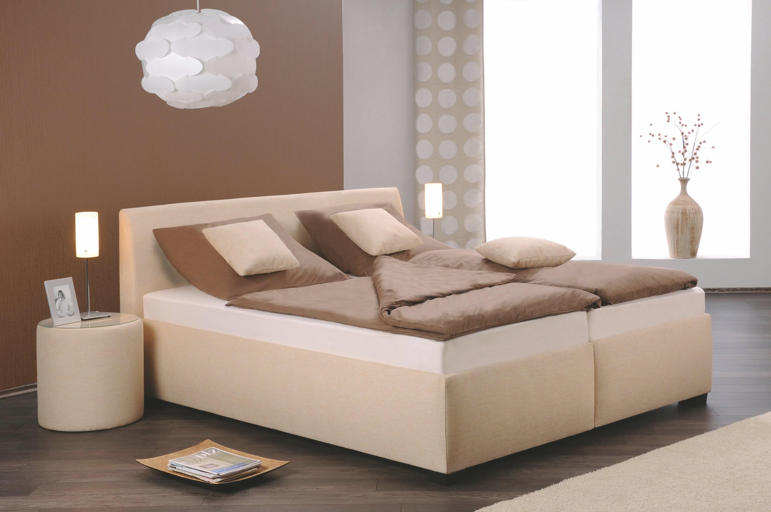 Polsterbett 140 X 200 Cm Beige Oschmann Monte Carlo Polyester Modern von Polsterbett 140X200 Beige Photo
