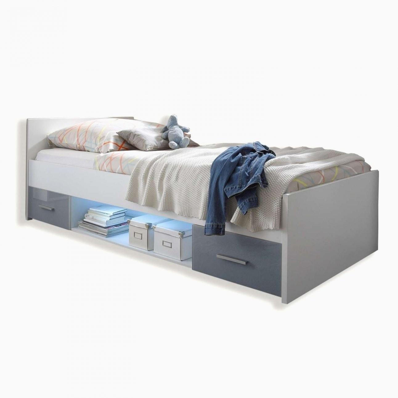 Polsterbett 90X200 Mit Bettkasten Frisch Funktionsbett 90—200 von Polsterbett 90X200 Mit Bettkasten Bild