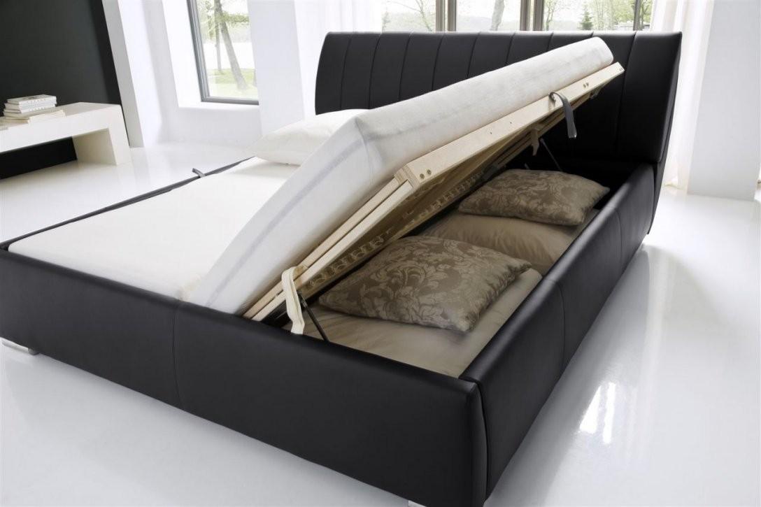 Polsterbett Bett Wien200X200Cm Inkl Bettkasten+Lattenroste von Polsterbett Mit Bettkasten 100X200 Bild