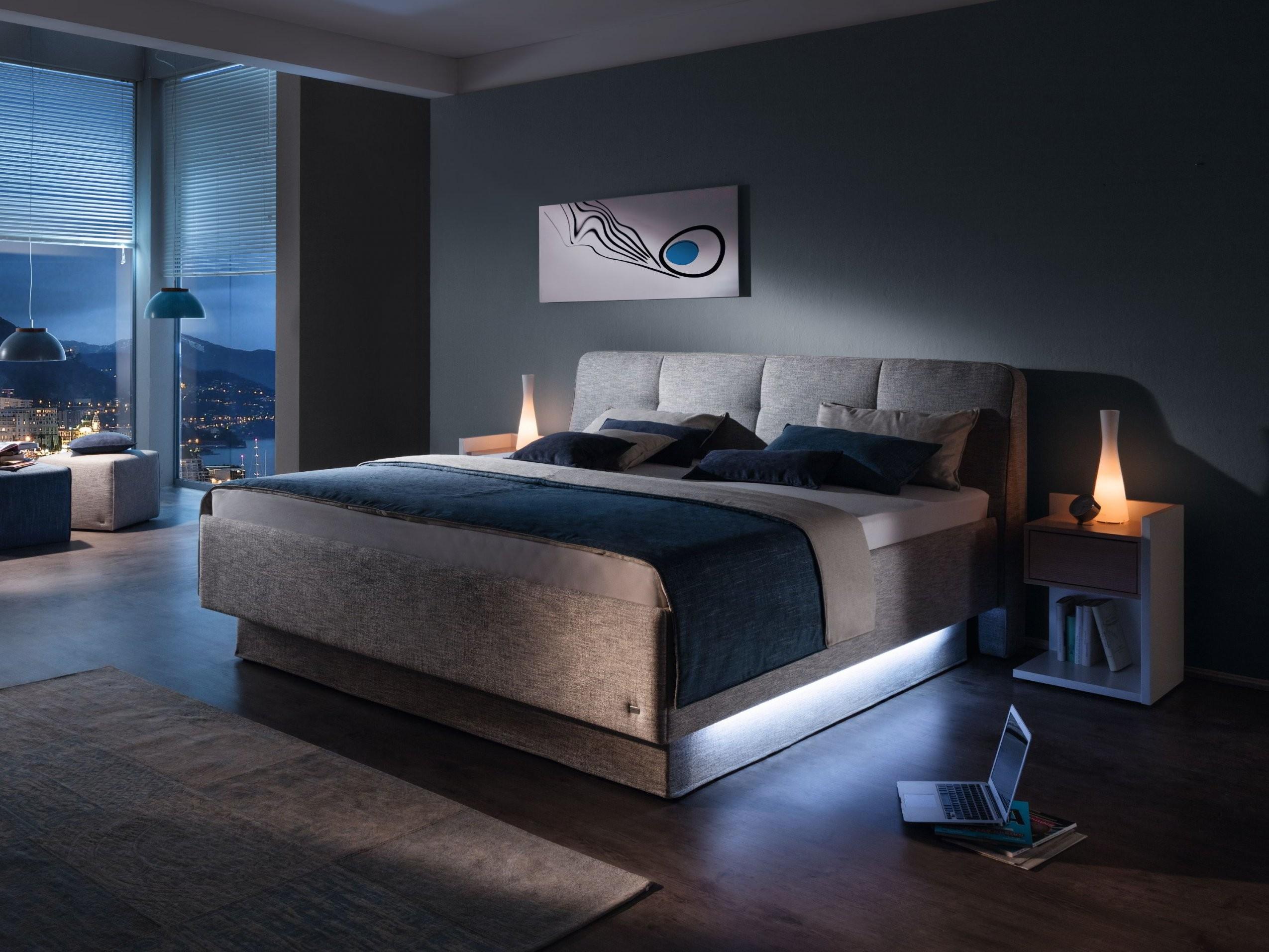 Polsterbett Composium In Grau Stoff Von Ruf Betten Und Schlafzimmer von Ruf Betten Mit Bettkasten Bild