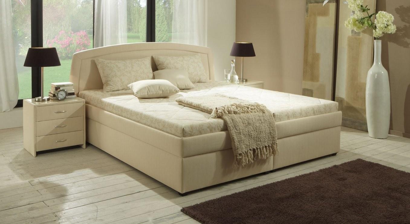 Polsterbett Mit Bettkasten Und Lattenrost  Allegra von Polsterbett 160X200 Mit Bettkasten Komforthöhe Bild