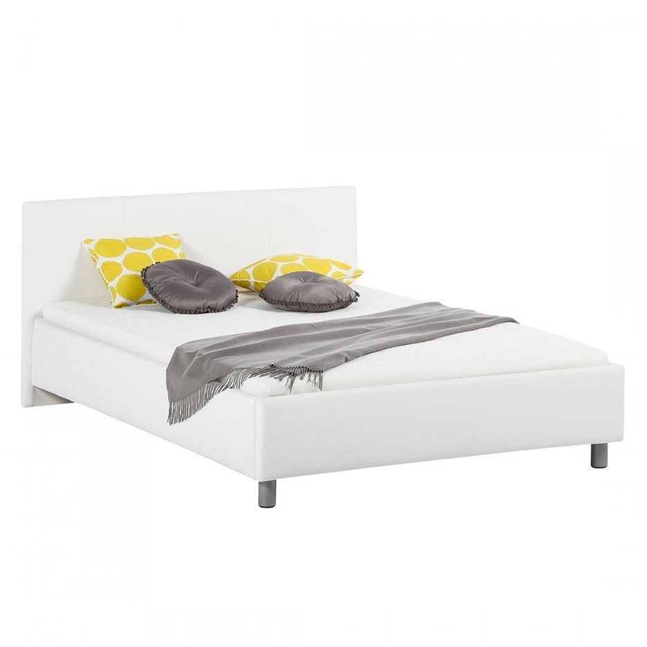 Polsterbett Naomi (Inkl Lattenrost & Matratze)  Kunstleder  160 X von Bett Inklusive Lattenrost Und Matratze Photo