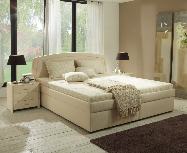 Polsterbetten 160×200 Cm Auch Auf Raten Kaufen von Bett Mit Lattenrost Und Matratze 160X200 Photo