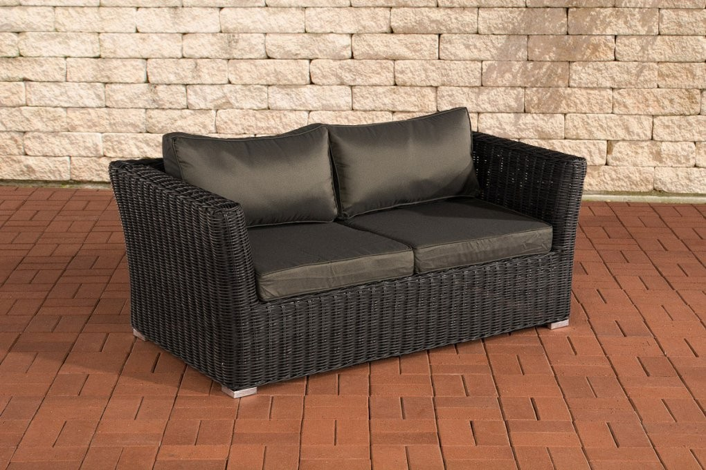 Polyrattan 2 & 3 Sitzer Sofas Online Kaufen  Möbelsuchmaschine von Polyrattan Sofa 2 Sitzer Photo