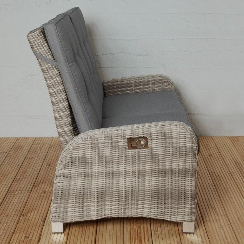Polyrattan 2 Sitzer Fantastisch Polyrattan 2 Sitzer Sofa Braun Couch von Polyrattan Sofa 2 Sitzer Bild
