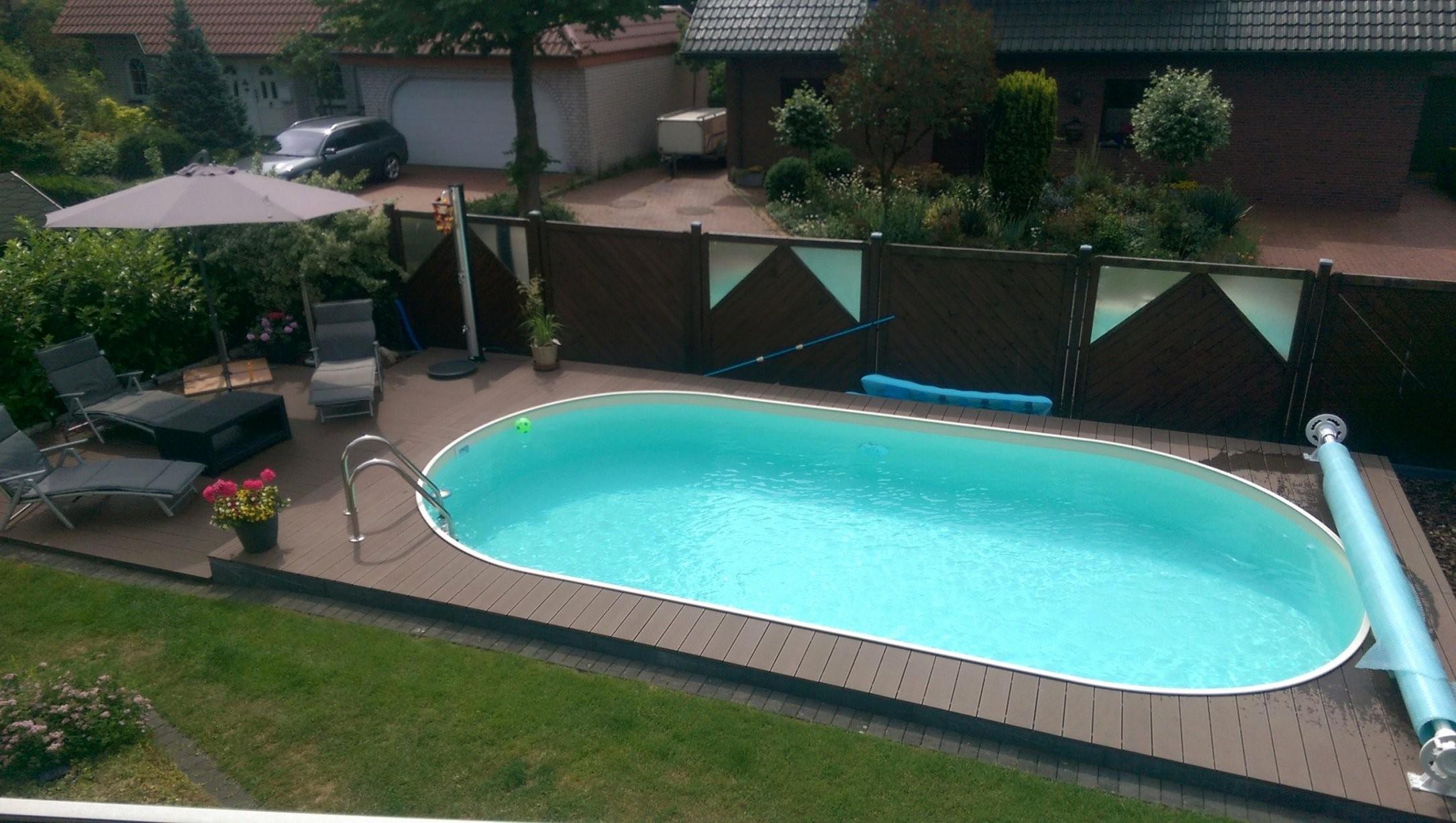 Pool Im Garten Selber Bauen Mit Pool Terrasse Bauen Best Pool von Pool Terrasse Selber Bauen Bild