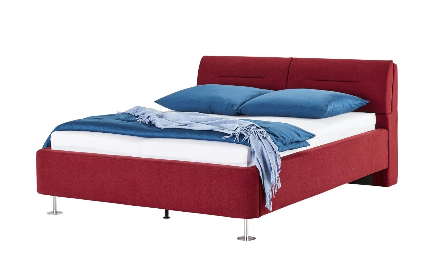 Posterbettgestell 160X200  Rot Mein Bett  Höffner von Höffner Betten 140X200 Photo