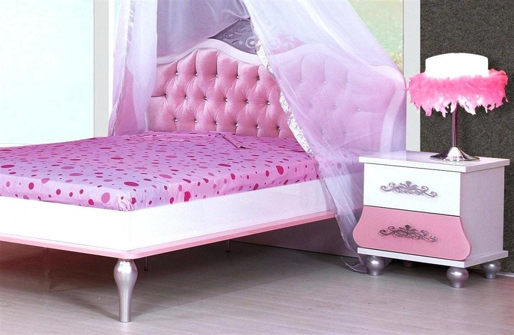 Prinzessinnen Bett Kinderbett Selber Bauen Prinzessin Boxspring von Mädchen Bett 140X200 Photo