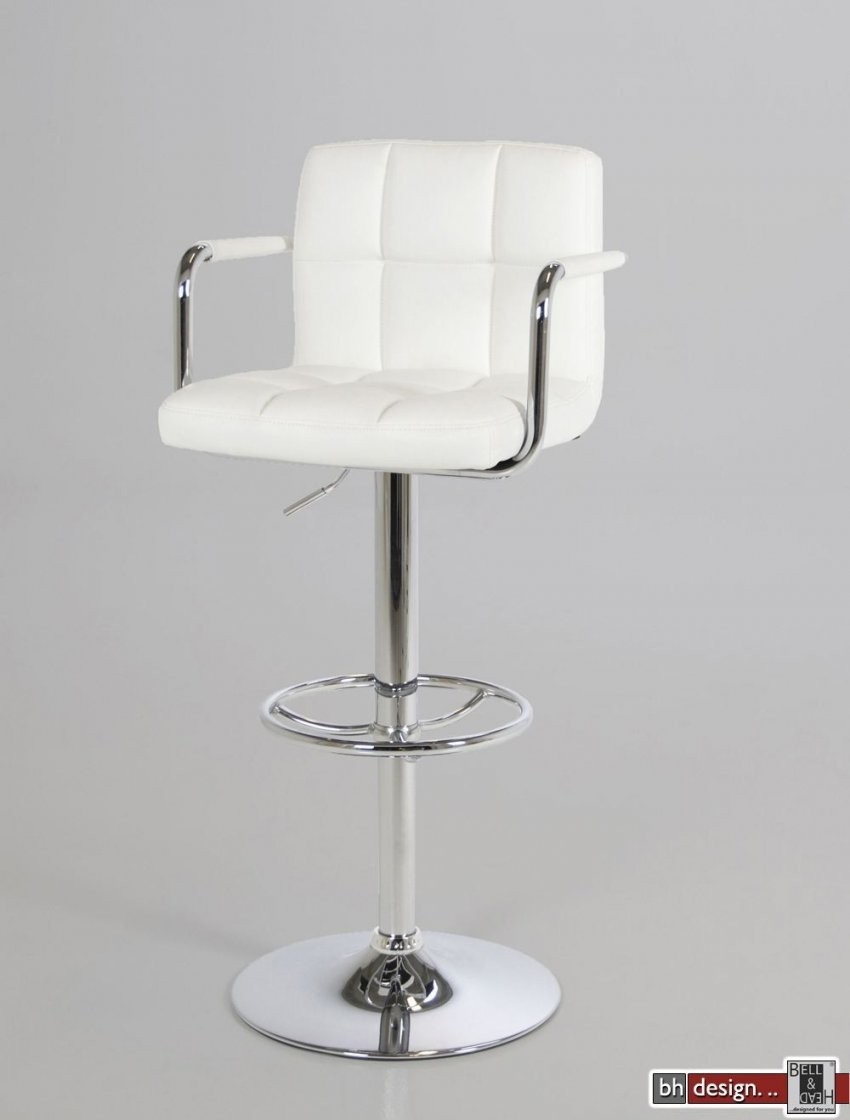 Puffin Barhocker Weiss Poweredbell & Head®  Preiswerte von Barhocker Leder Weiß Photo
