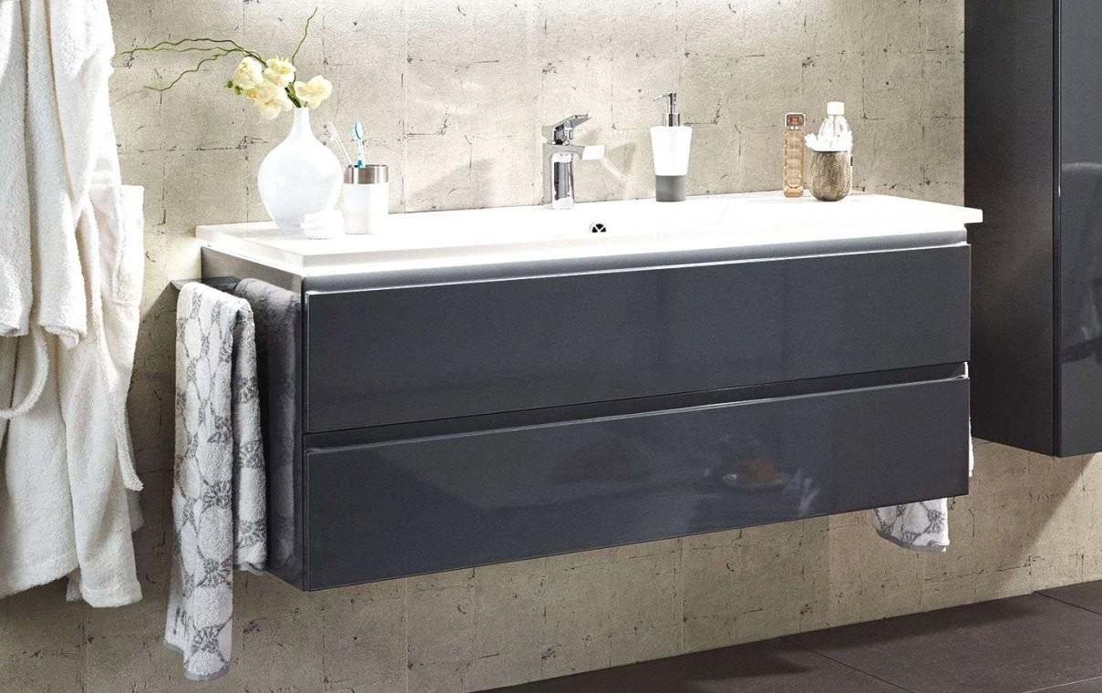 Puris Ace Waschtisch Mit Unterschrank 122 Cm Breit Ideen Waschbecken von Waschbecken Klein Mit Unterschrank Bild