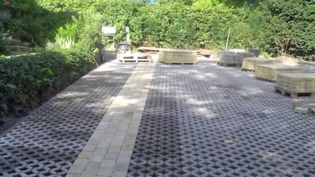 Rasen Steine  Youtube von Steine Im Garten Verlegen Bild