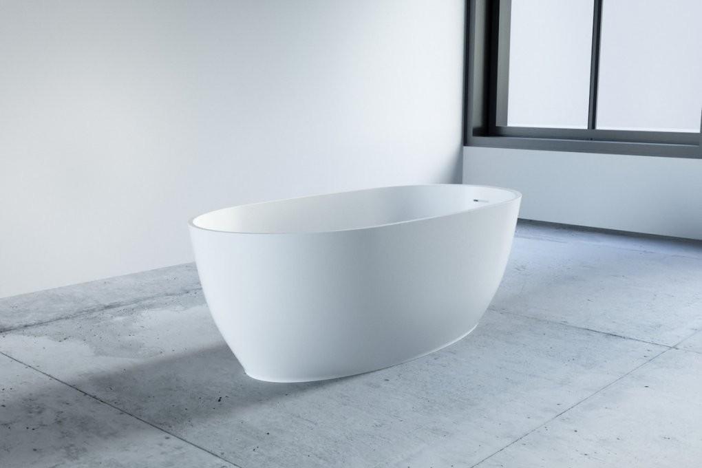 Raumsparbadewanne Mineralguss Freistehend  One Bath von Kleine Badewannen Freistehend Bild