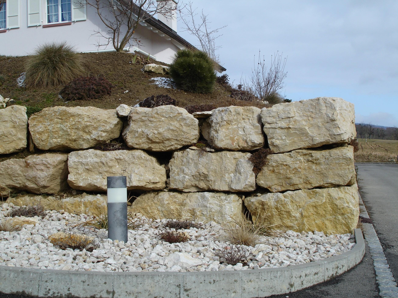 René Müller Ag Steinbruchunternehmung von Große Steine Für Garten Bild