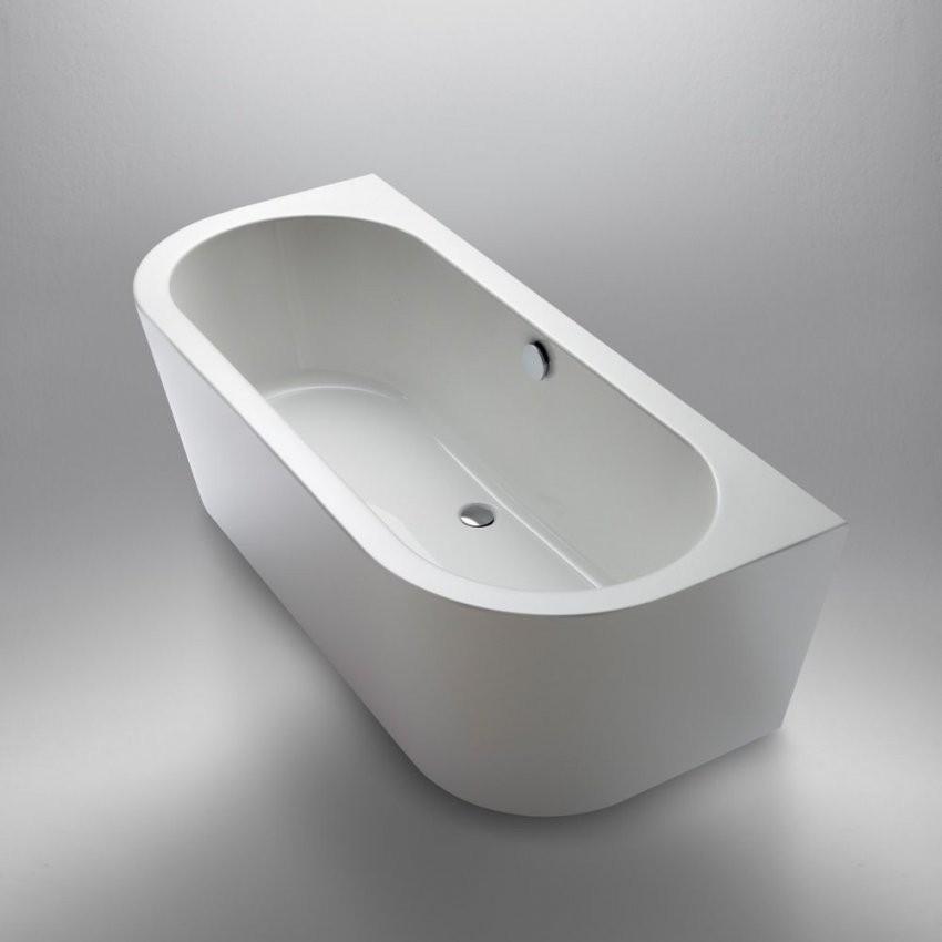 Repabad Livorno 18080 Oval F Wand Freistehende Badewanne  Bad In von Freistehende Badewanne An Der Wand Bild