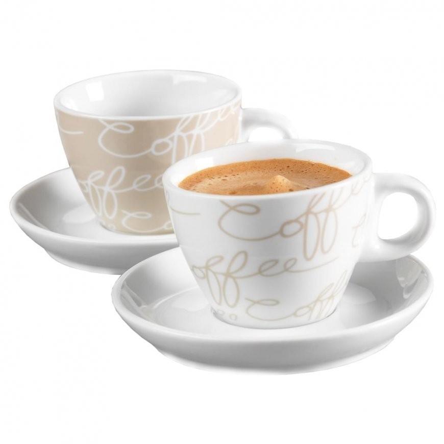 Ritzenhoff & Breker Cornello Espresso Set 2 Tassen  Real von Ritzenhoff Kaffeetassen Set Bild