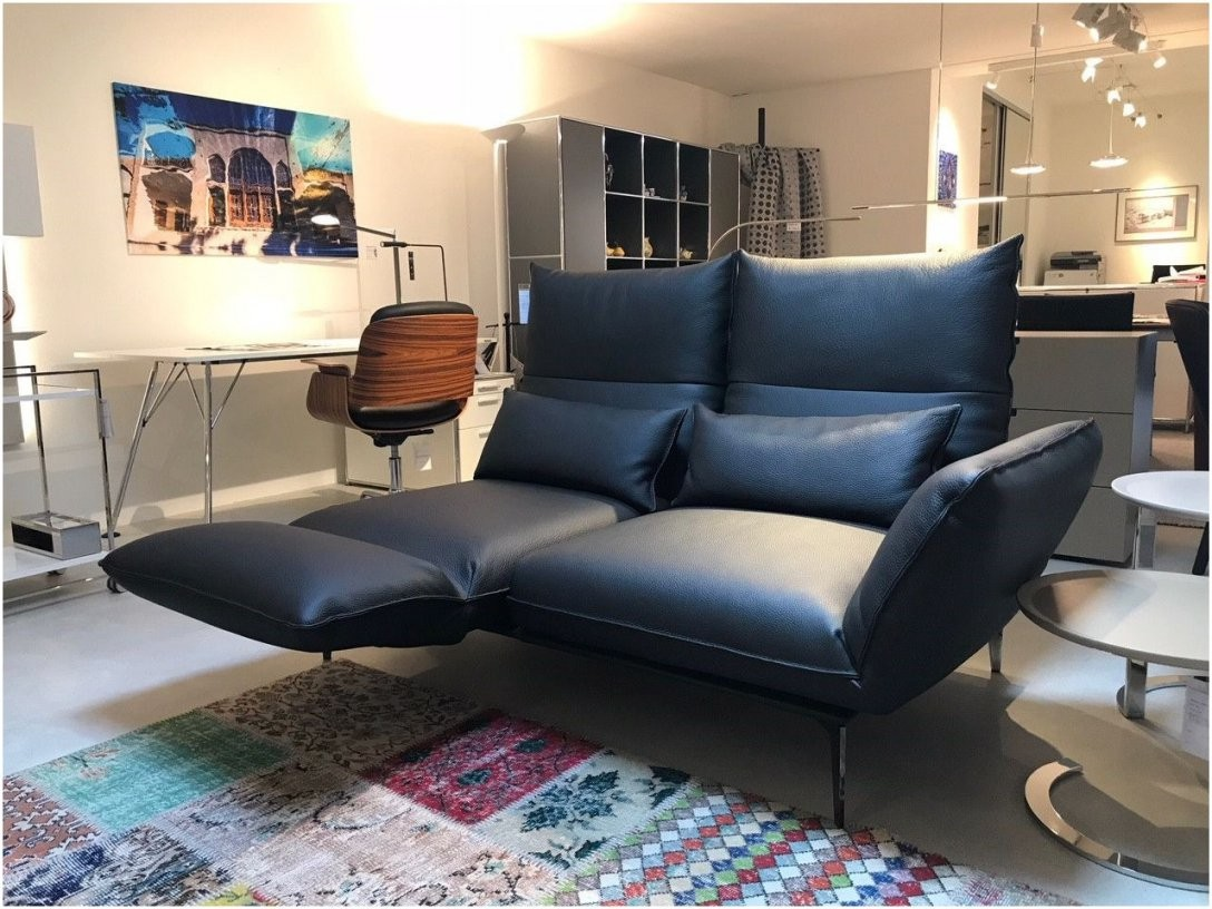 Roro Der Klassiker Von Brühl Sofa In Leder Schwarz Wohnzimmer 2 von 2 Sitzer City Sofa Mit Relaxfunktion Bild
