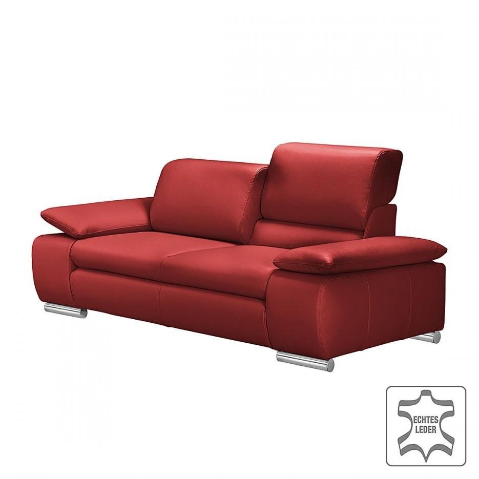 Rotlederechtleder 2 & 3 Sitzer Sofas Online Kaufen  Möbel von 2 Sitzer Sofa Rot Photo