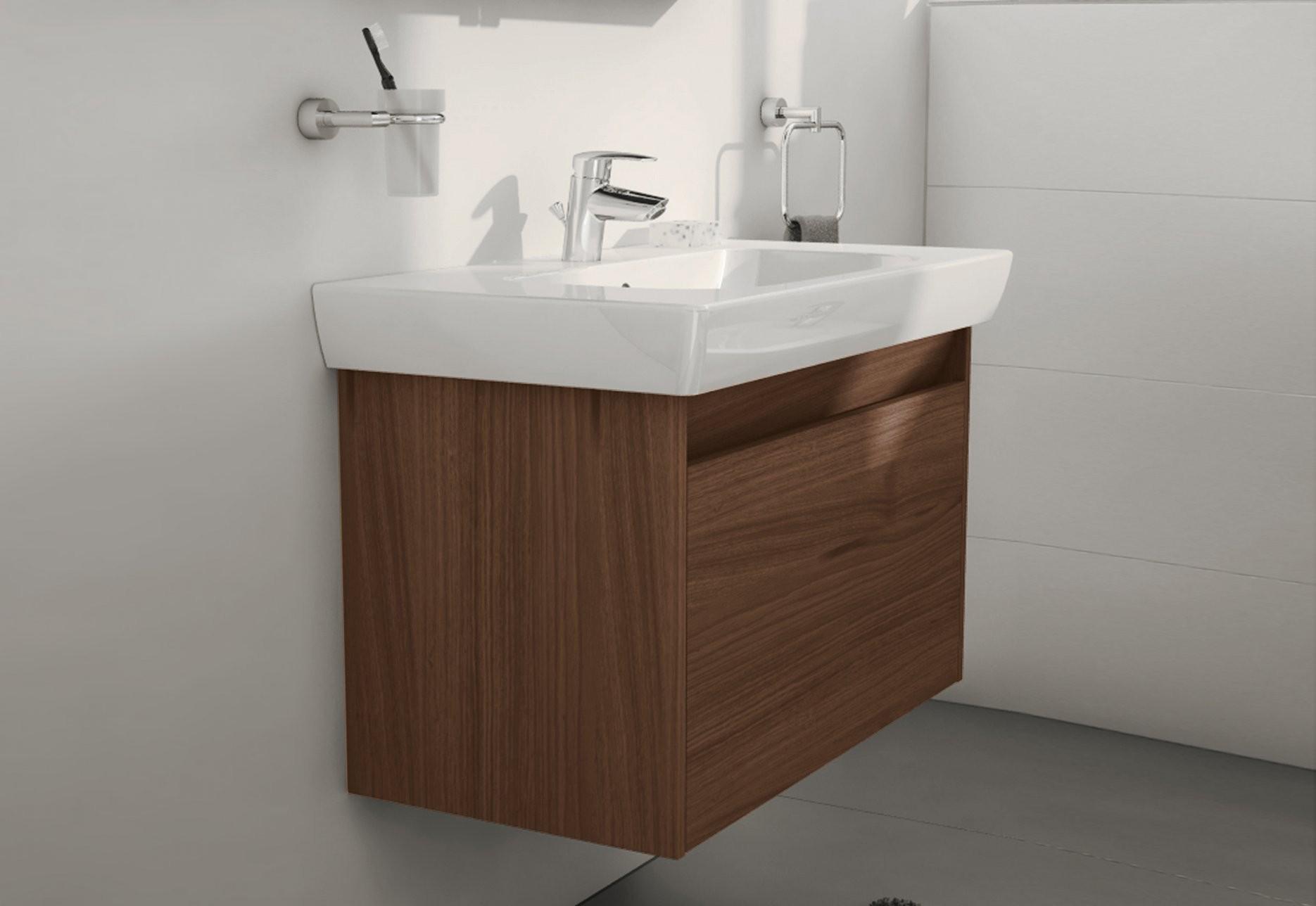 S20 Waschtisch Unterschrank Von Vitra Bathroom  Stylepark von Waschbecken Klein Mit Unterschrank Bild