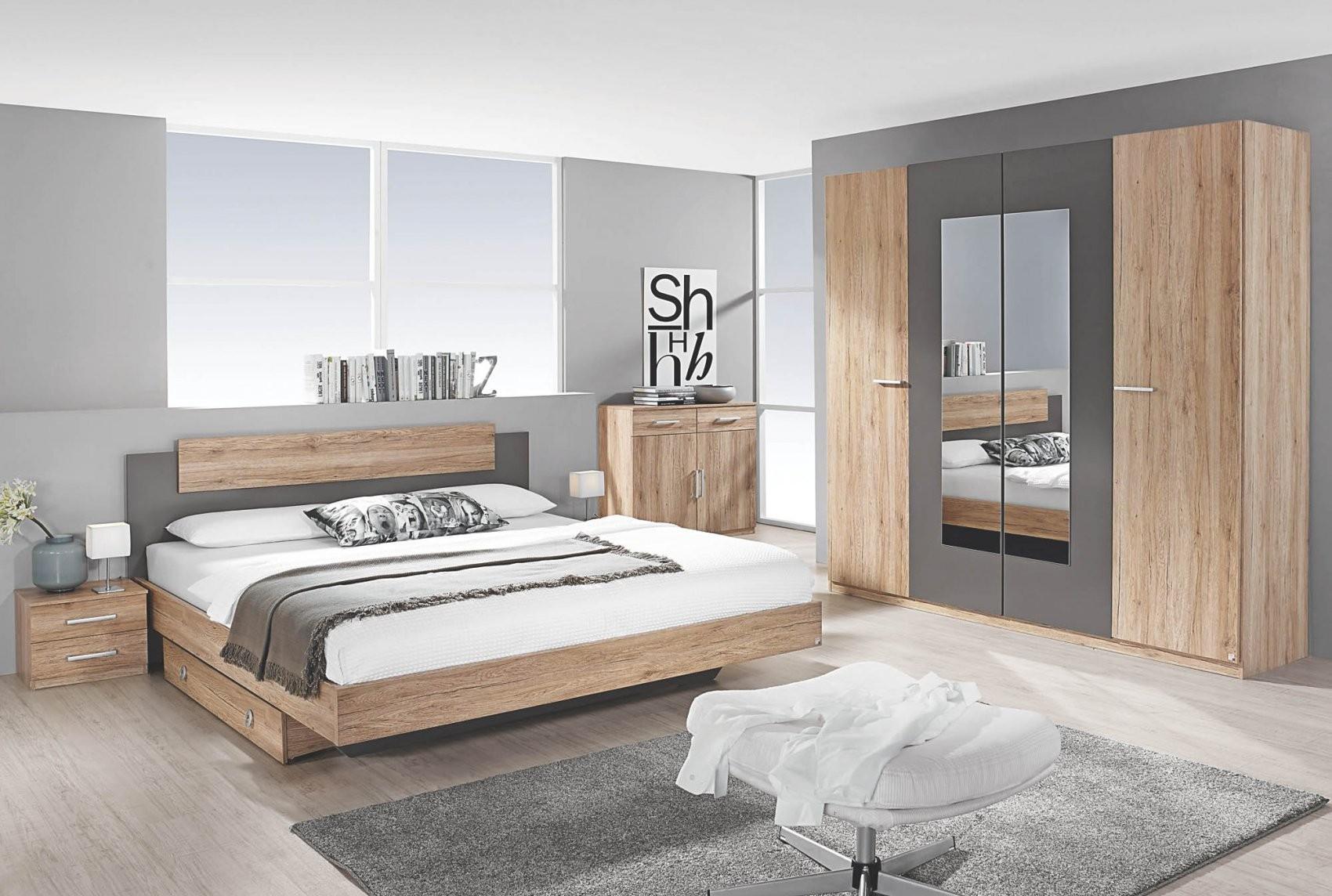 Schlafzimmer 4Tlg Borba Von Rauch Packs Mit 180X200 Bett Eiche von Bett Sonoma Eiche 180X200 Photo