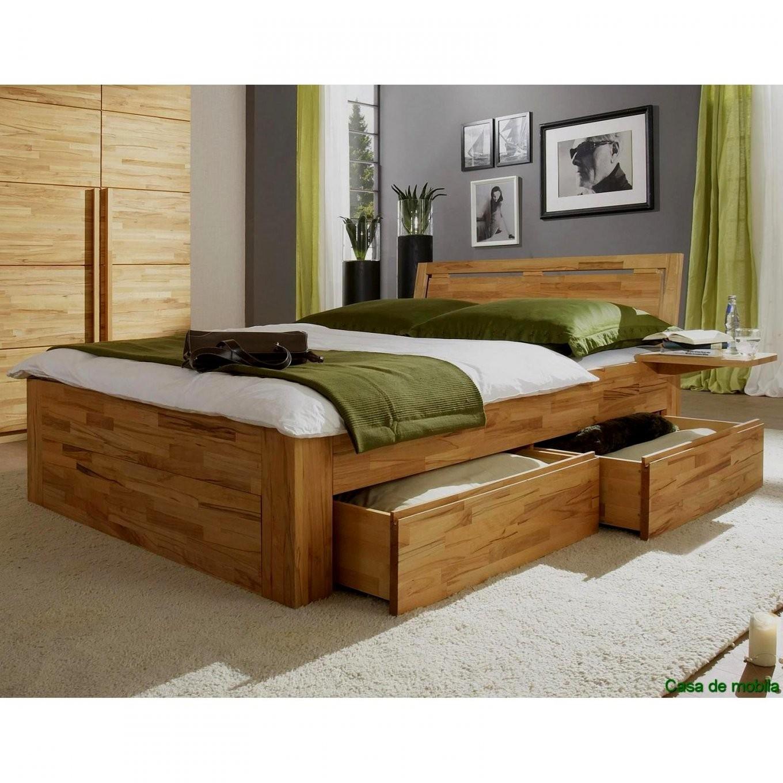 Schön Bett 140X200 Holz Massiv Doppelbett 200X200 Weiss 160X200 Mit von Bettgestell 140X200 Holz Photo