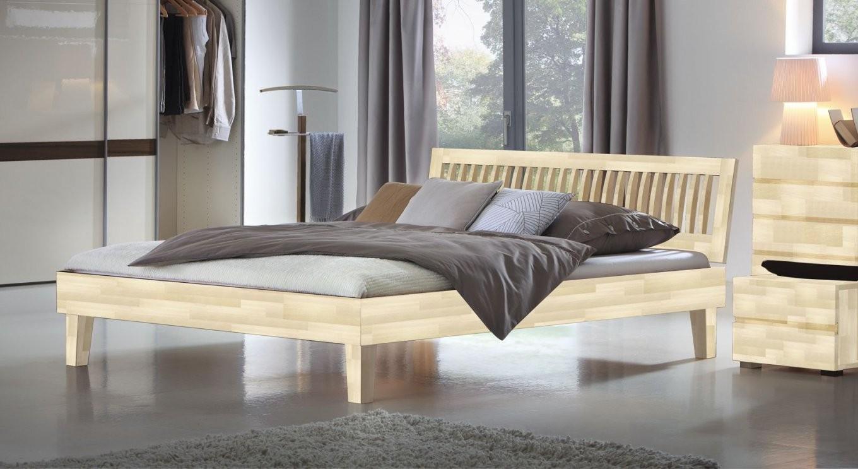 Schön Bett Holz 200X200  Deutsche Deko  Pinterest  Bett Holz von Bett 200X200 Holz Bild