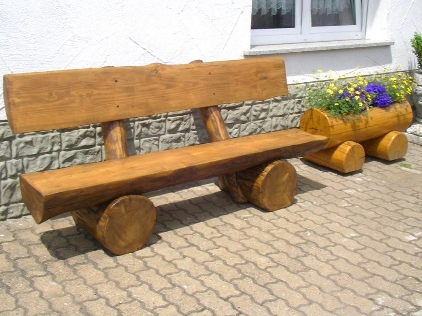 Schönheit Massive Holzbank Für Garten Fur Frisch Bild Und Er von Holzbank Garten Rustikal Bild