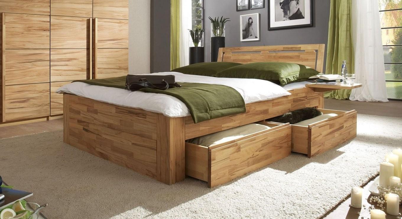 Schubkastenbett Mit Zusätzlichem Stauraum  Bett Andalucia von Bett 200X200 Mit Stauraum Bild