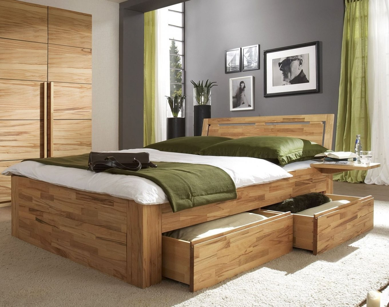 Schubkastenbett Mit Zusätzlichem Stauraum  Bett Andalucia von Bett Mit Stauraum 180X200 Bild