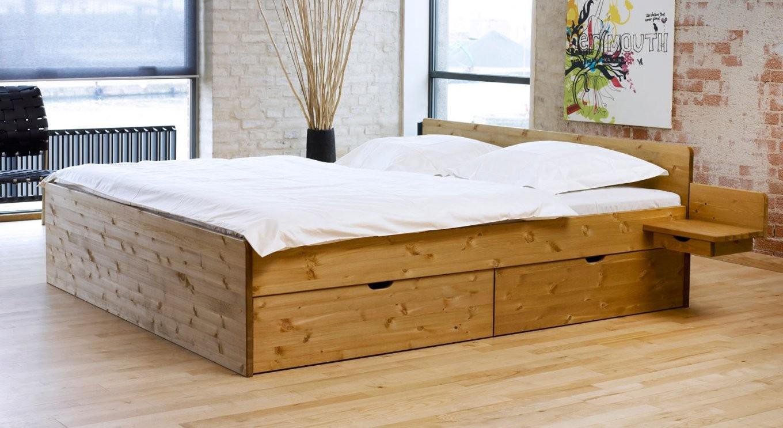 Schubkastendoppelbett Aus Buche Oder Kiefer  Bett Norwegen von Bett Kiefer 120X200 Bild