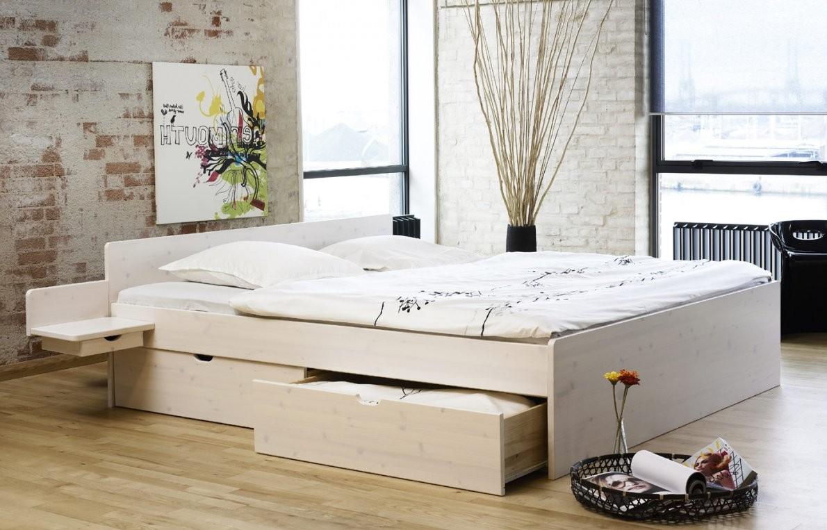 Schubkastendoppelbett Aus Buche Oder Kiefer  Bett Norwegen von Stauraum Bett 180X200 Massivholz Bild
